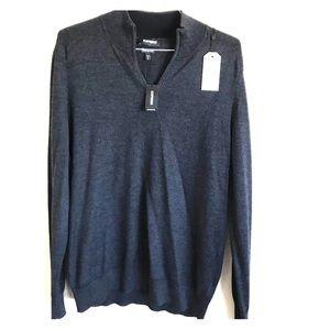 Express Men's Quarter-Zip Sweater